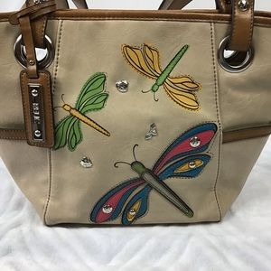 Relic dragonfly purse